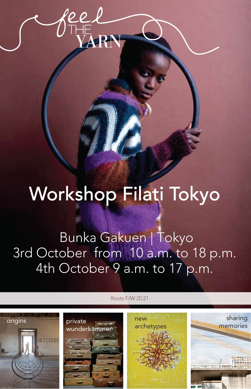 Feel the Yarn - Workshop Filati Tokyo